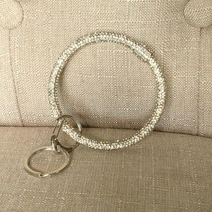 Wrist Keyring, Bracelet Keyring Rhinestones, Key